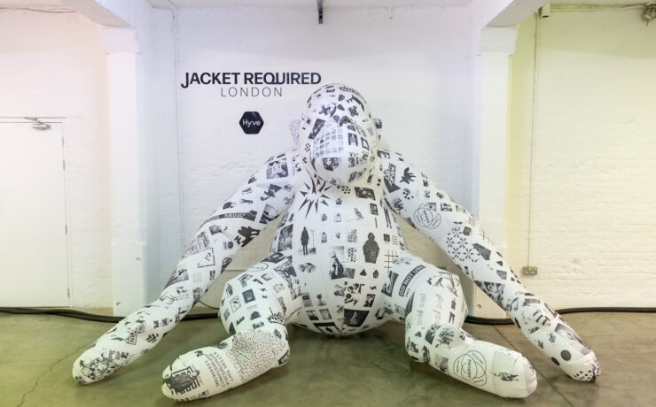 Jacket Required Raeburn installation