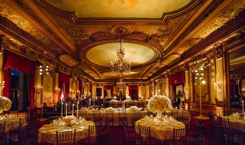 The The Great Hall, at The Metropolitan Club,  NYC