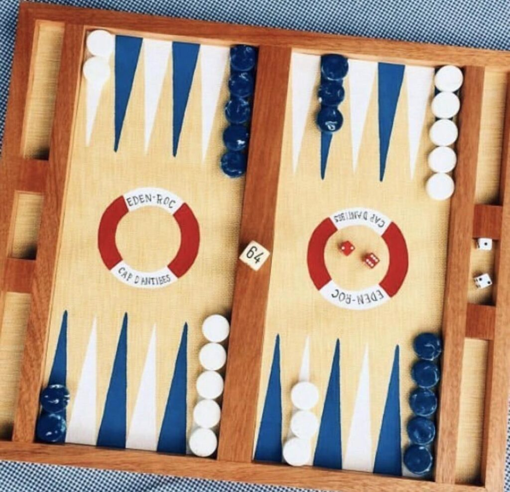 Backgammon Nine Fair x Hotel Du Cap Eden-Roc