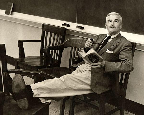 Faulkner - Ever the elegant Southern gent