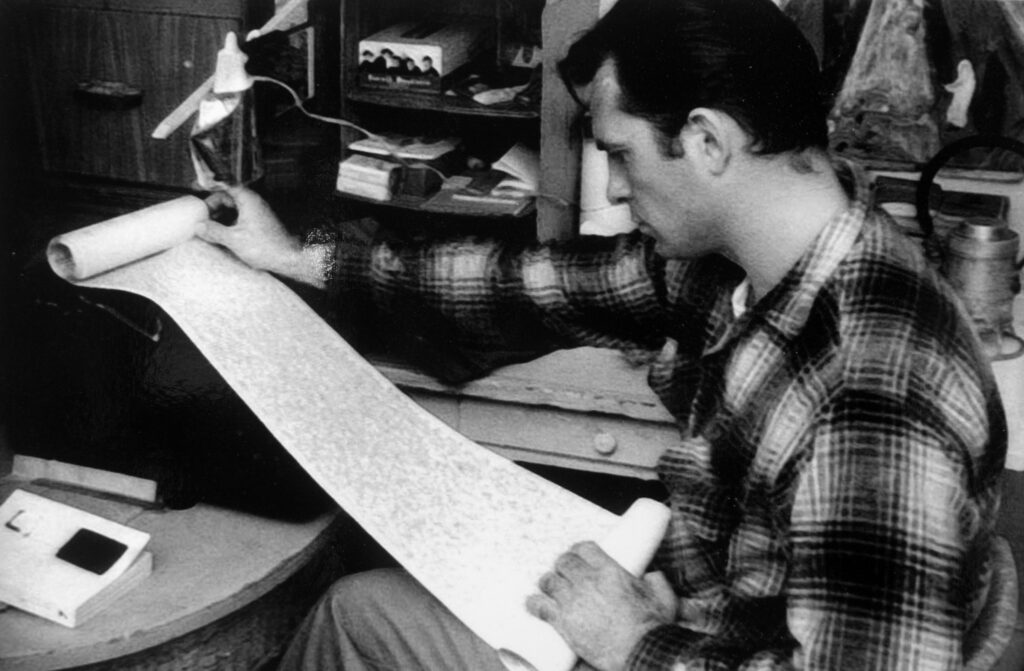 Good-looking, sharp and with a wild heart - Kerouac charmed a generation