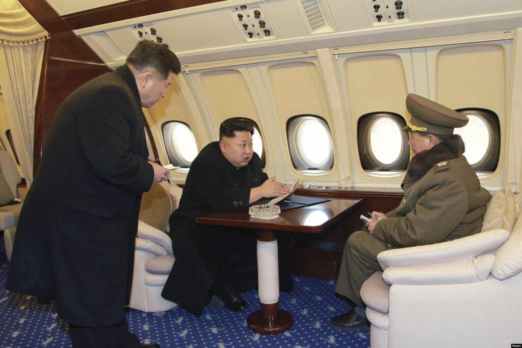 Kim Jong-Un on board