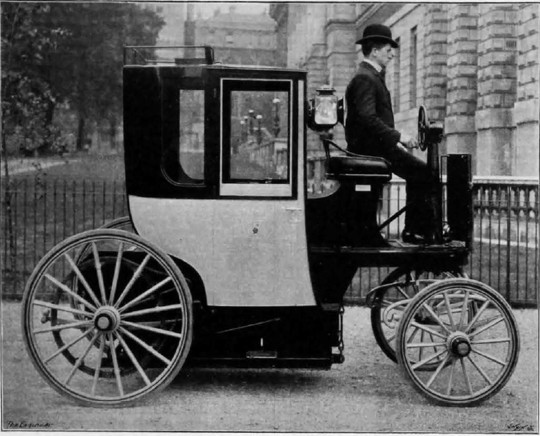 Electric cars were everywhere in Victorian London - Electric Car