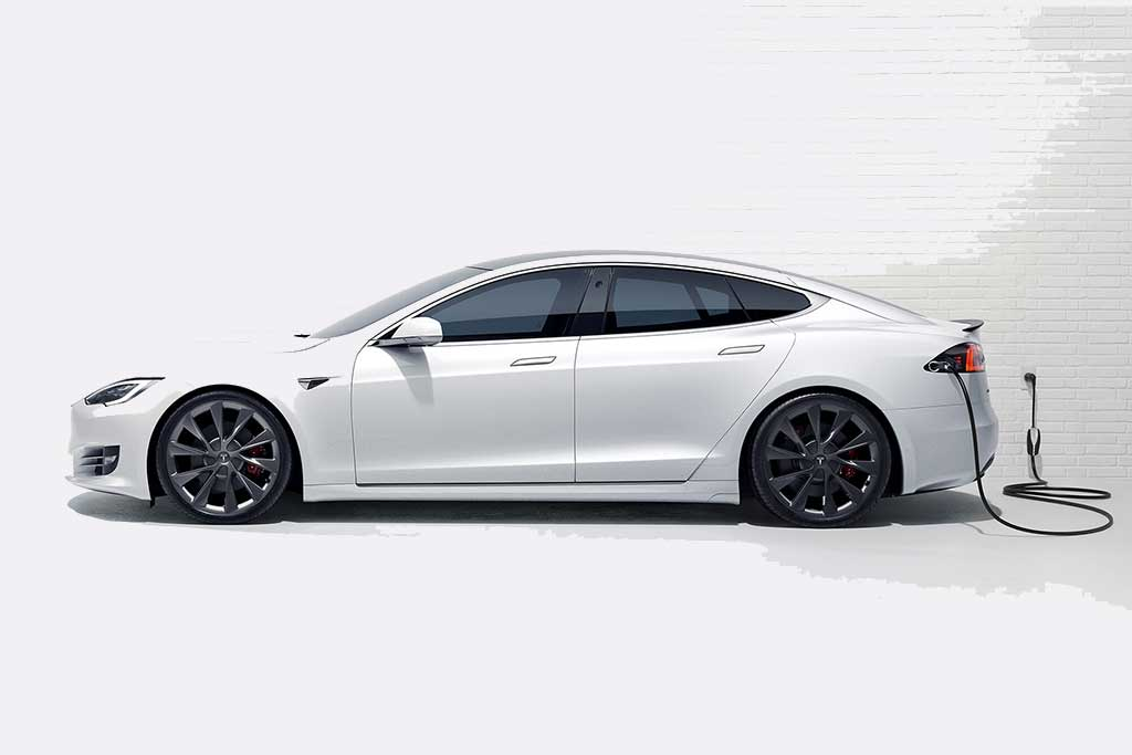 The Tesla Model S Long Range Plus - Electric Car