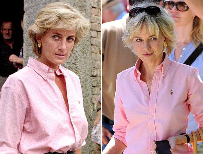 Naomi Watts in the Diana biopic