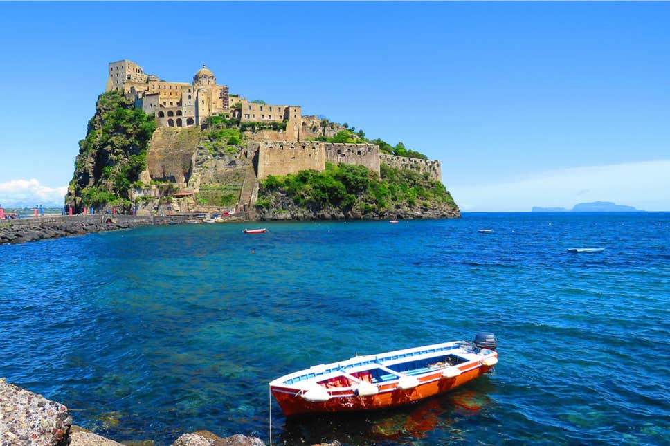 The island's famous views are some of the Amalfi Coast's most stunning - Ischia Film Festival