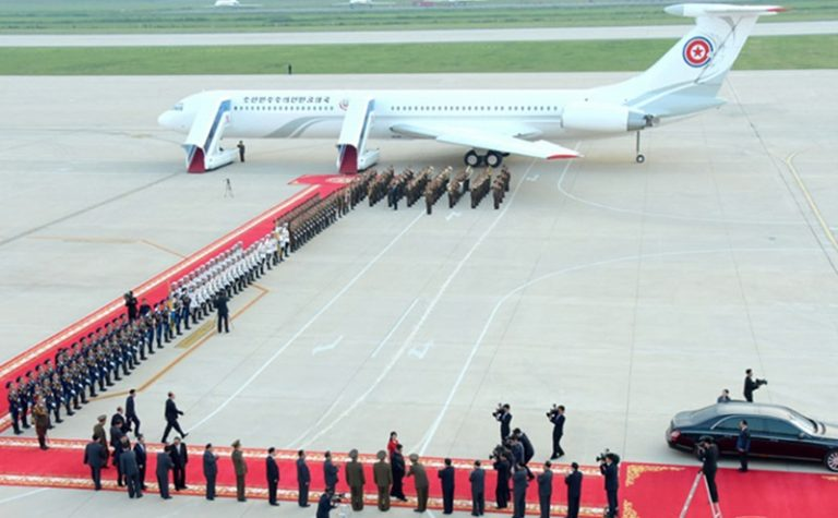 North Korea's 1962 Ilyushin is still in operation as the official plane for the head of state