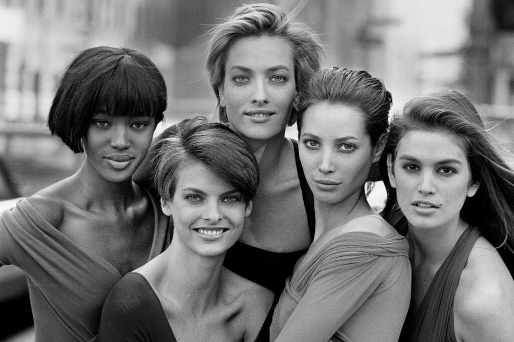 The Peter Lindberg photo that cemented 90's Supermodel culture