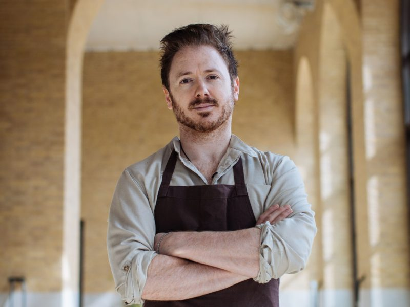 The Michelin-starred Chef Ollie Dabbous - Feast Of London