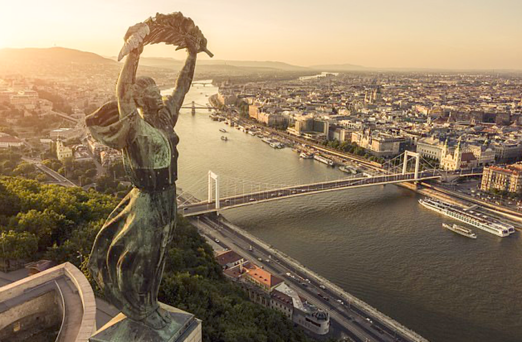 Budapest is filled with incredible vistas