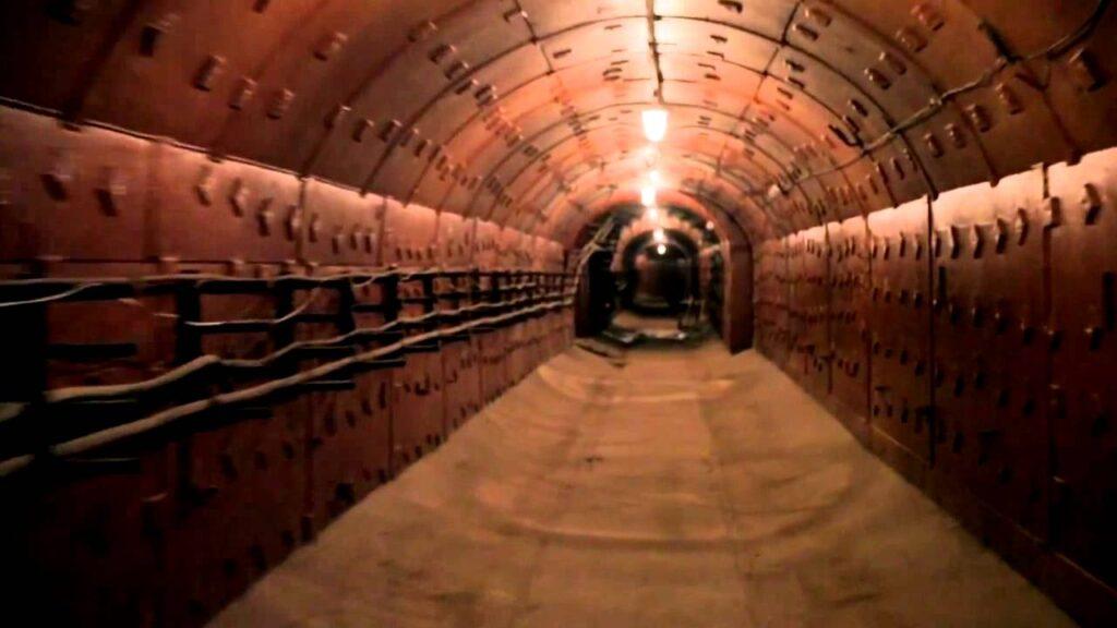 Explore a Soviet bunker