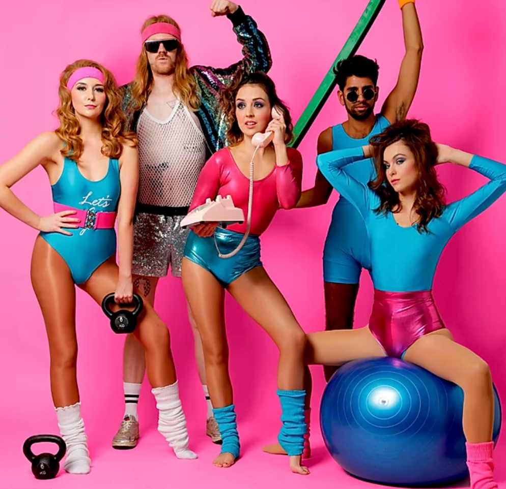 The Lycra 80's Party gang bring you irreverent fun