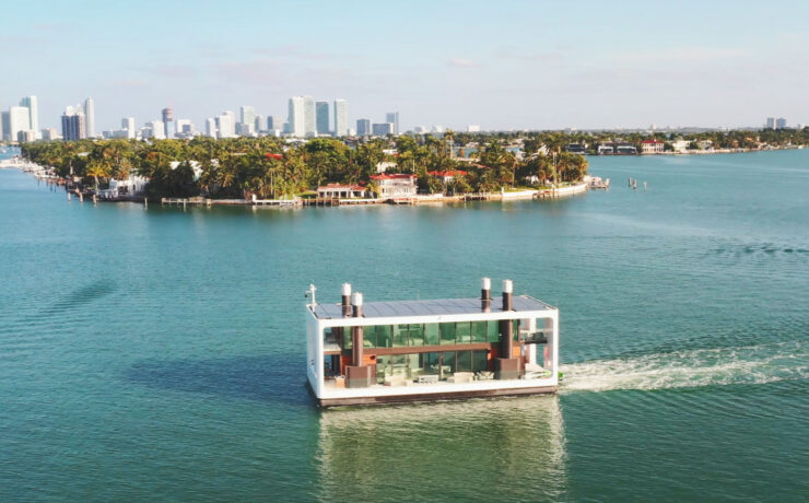 Welcome To Your New Floating Mansion