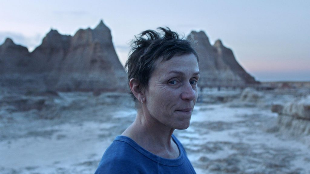 Nomadland (directed by Chloé Zhao)