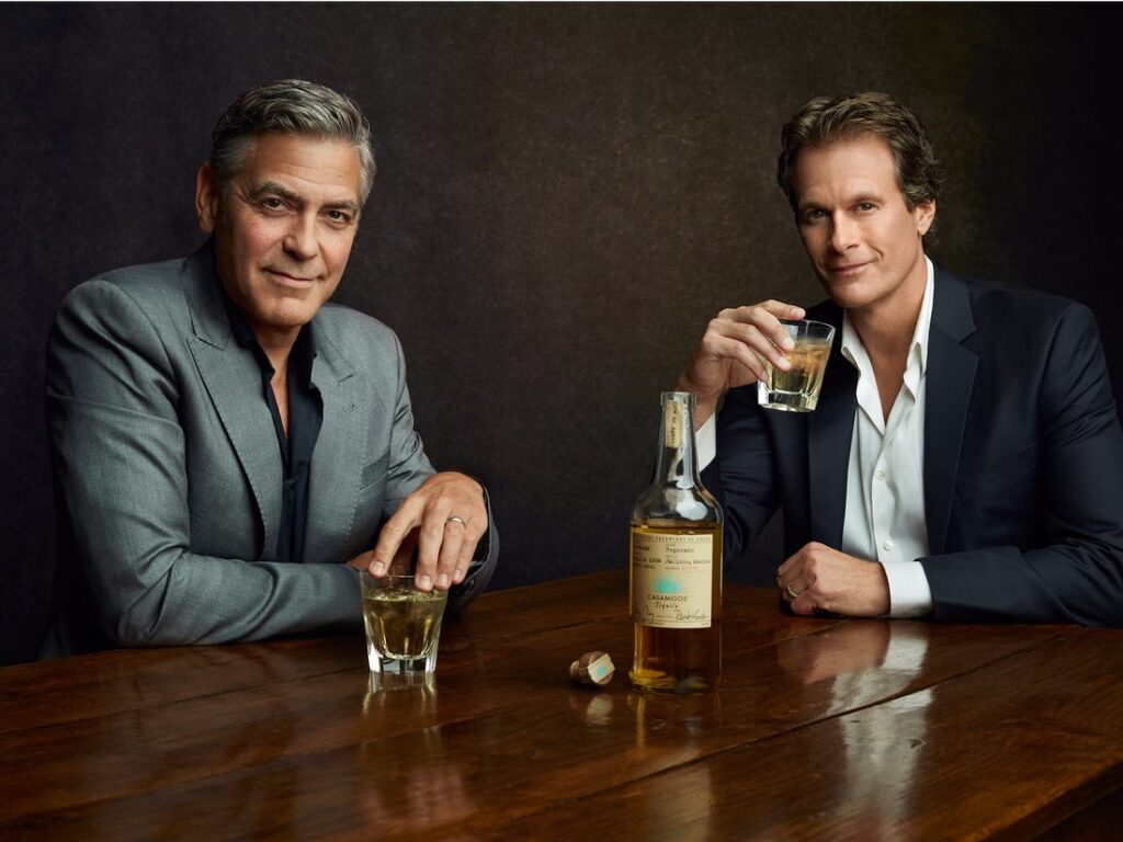 Three (Tequila) Cheers To Mr. Clooney