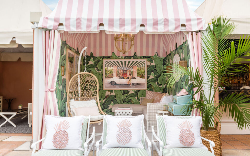 Gray Malin's Cabanas at the Beverly Hills are Instagram gold