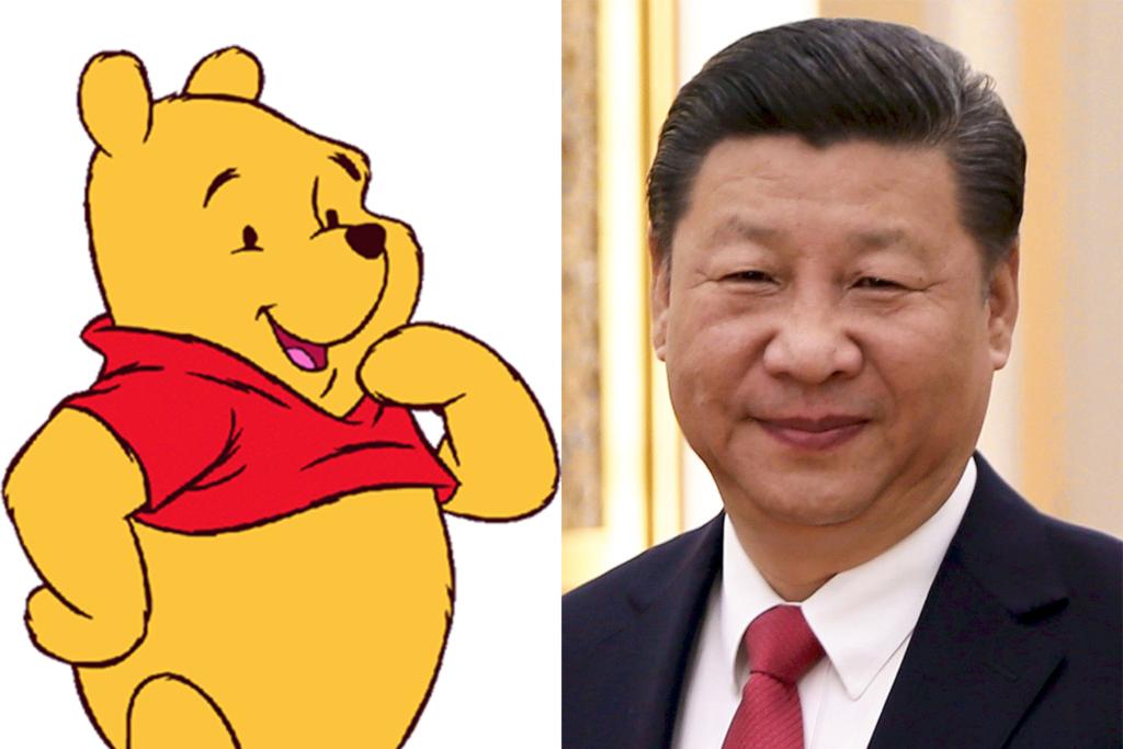 memes of Chinese President Xi Jinping