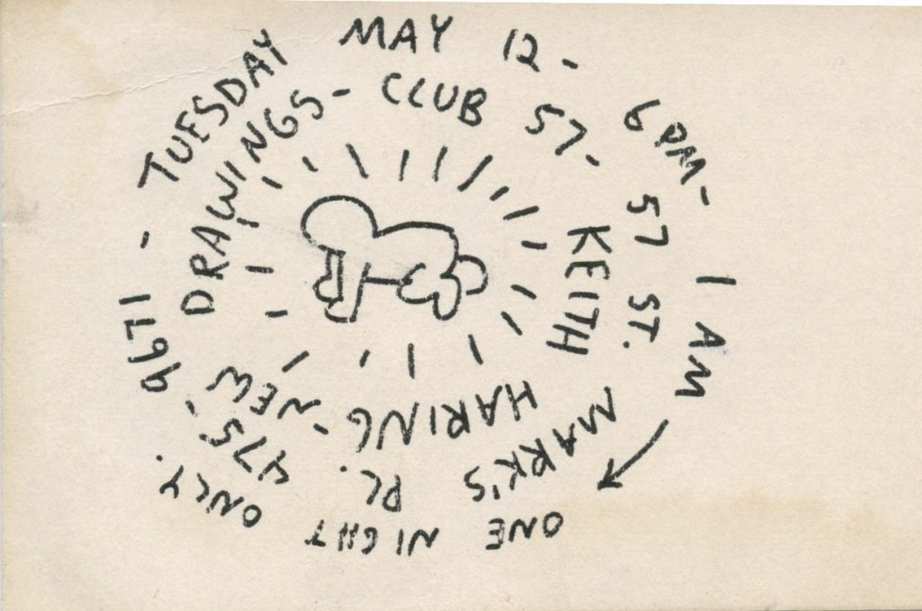 A flyer for Club57