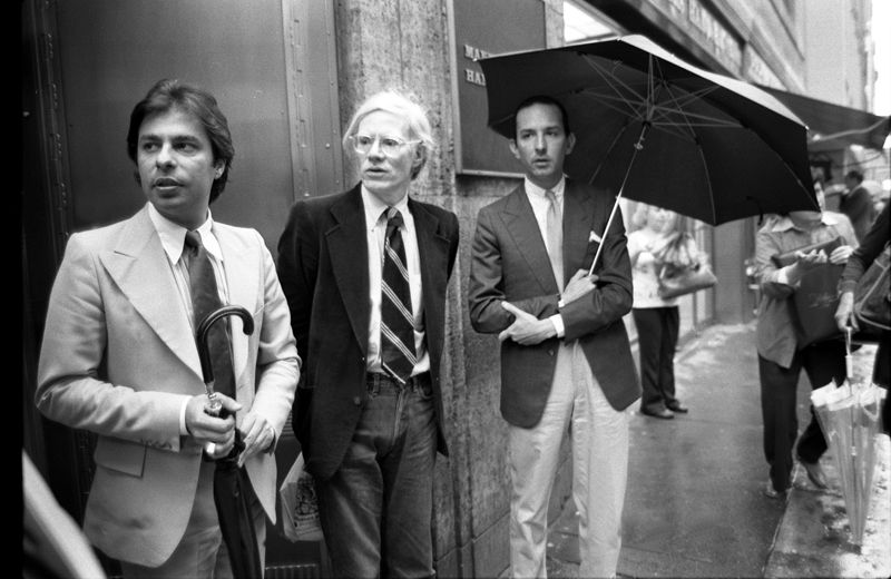Colacello with Warhol - Society Photographers