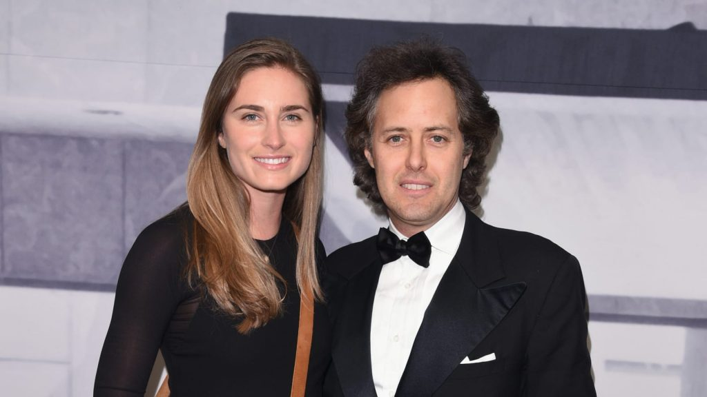 David Lauren and his wife Lauren Lauren
