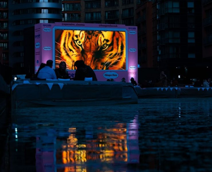 Float In - Chill Out | The UK's First Floating Cinema