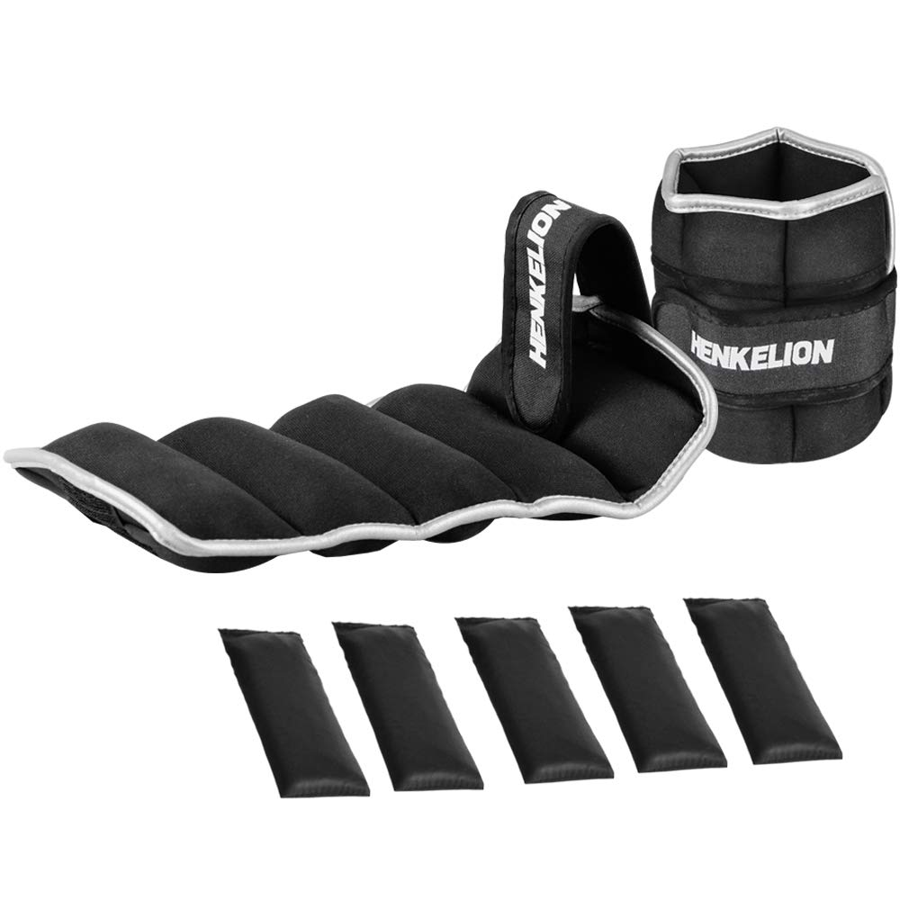 Henkelion Adjustable Ankle Weights