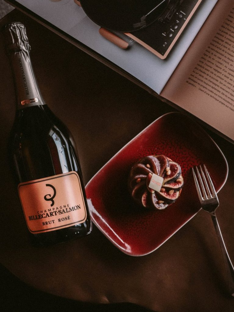 Fig and champagne - an ideal combination – Paris Fashion Week