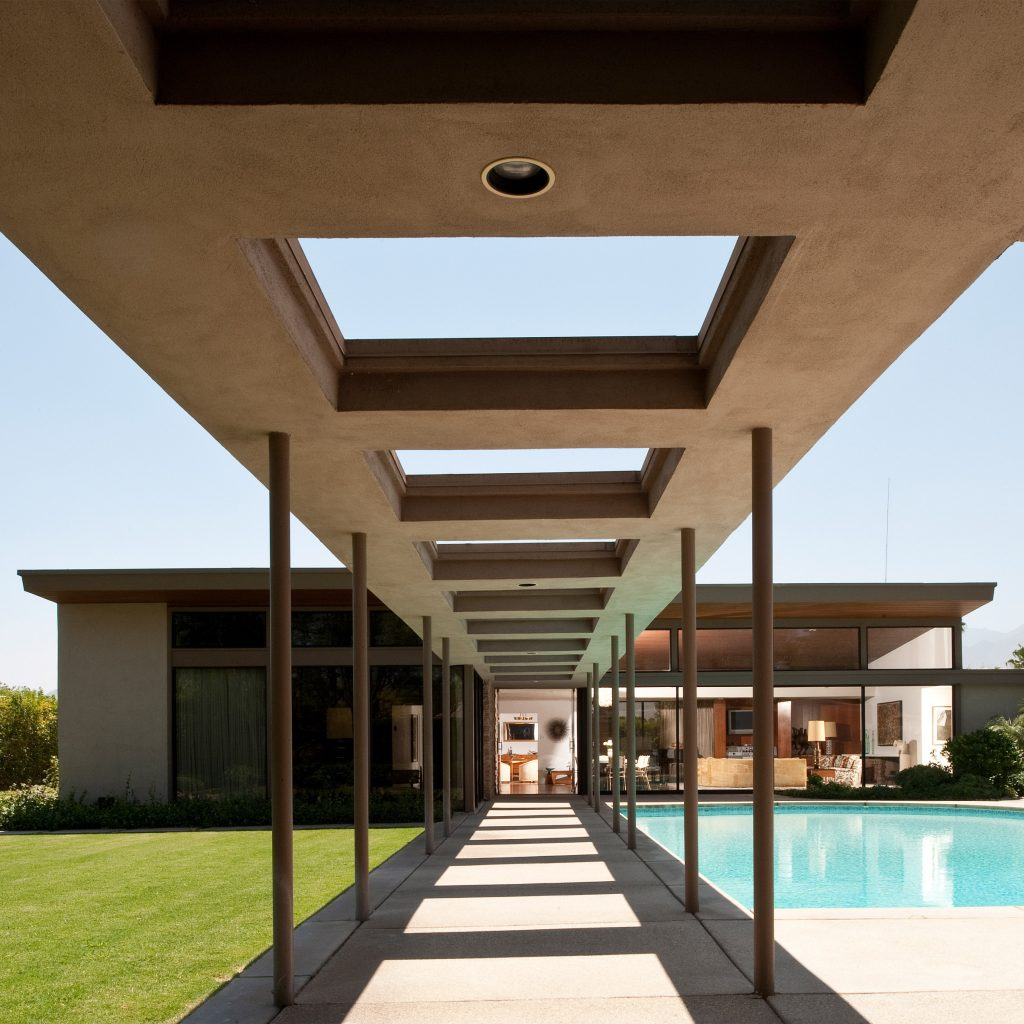 Twin Palms built for Frank Sinatra by architect E Stewart Williams — Palm Springs