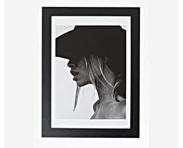 Framed Female Shadow Print