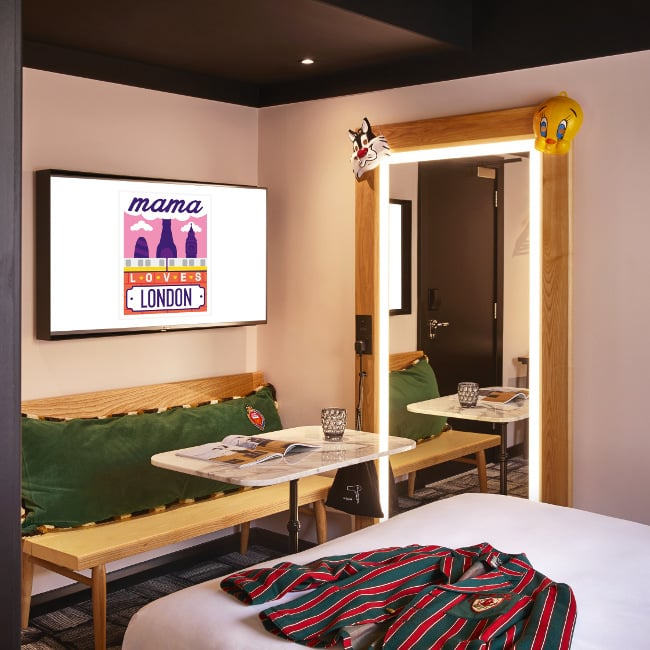 Mama London Rooms