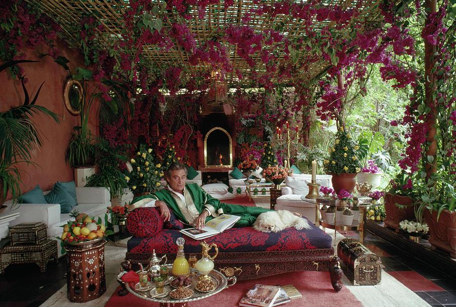 Adolfo De Velasco in Marrakech by Slim Aarons