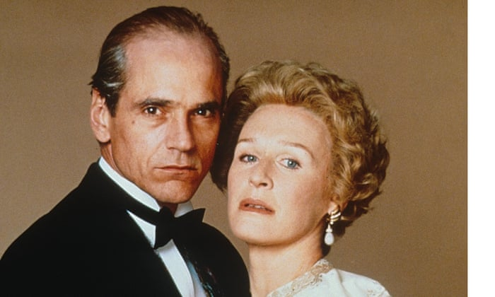 Jeremy Irons and Glenn Close in the film Reversal of Fortune  where Irons won best actor Oscar (1990) for his portrayal of Claus von Bülow