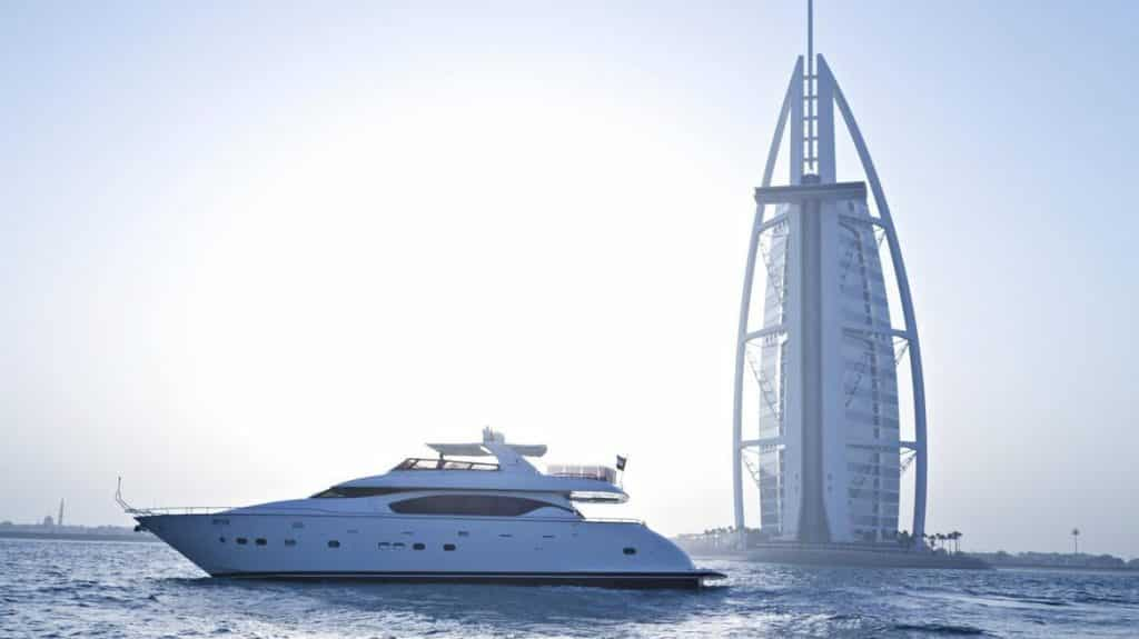 Charter A Yacht during NYE: