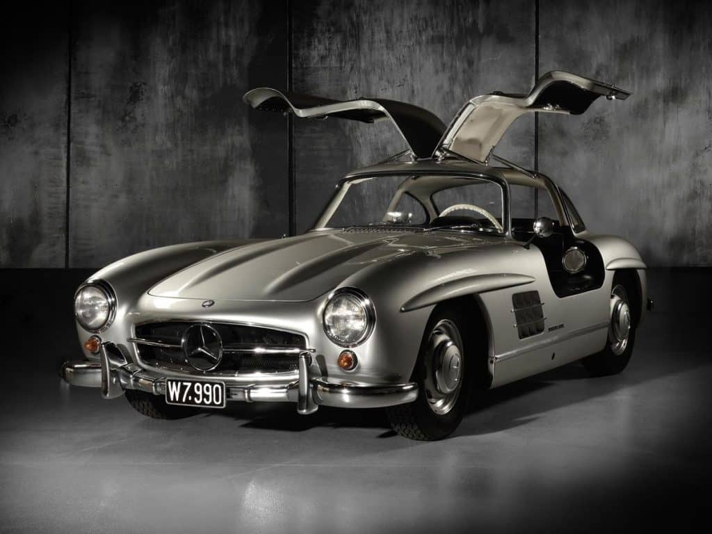 1955 Mercedes-Benz 300SL Gullwing coup