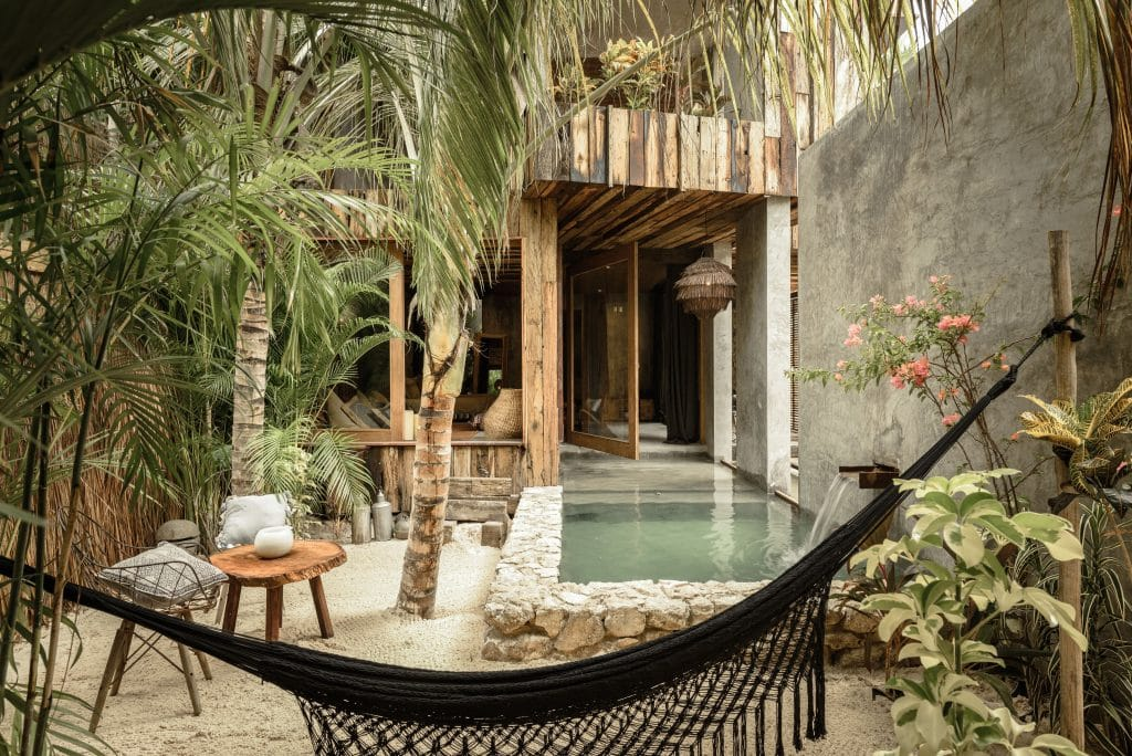 villa room at the be