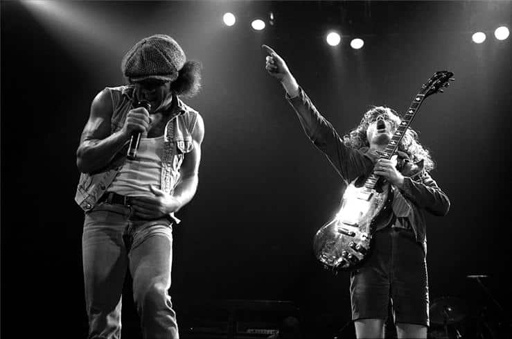 Rock Legends: Brian Johnson & Angus Young