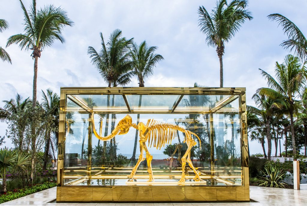 Damien Hirst at the Faena
