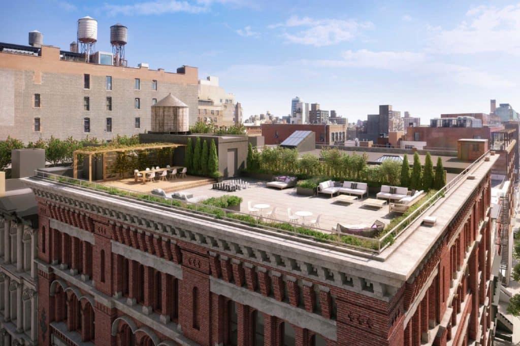 The Roof Terrace at Zero Bond