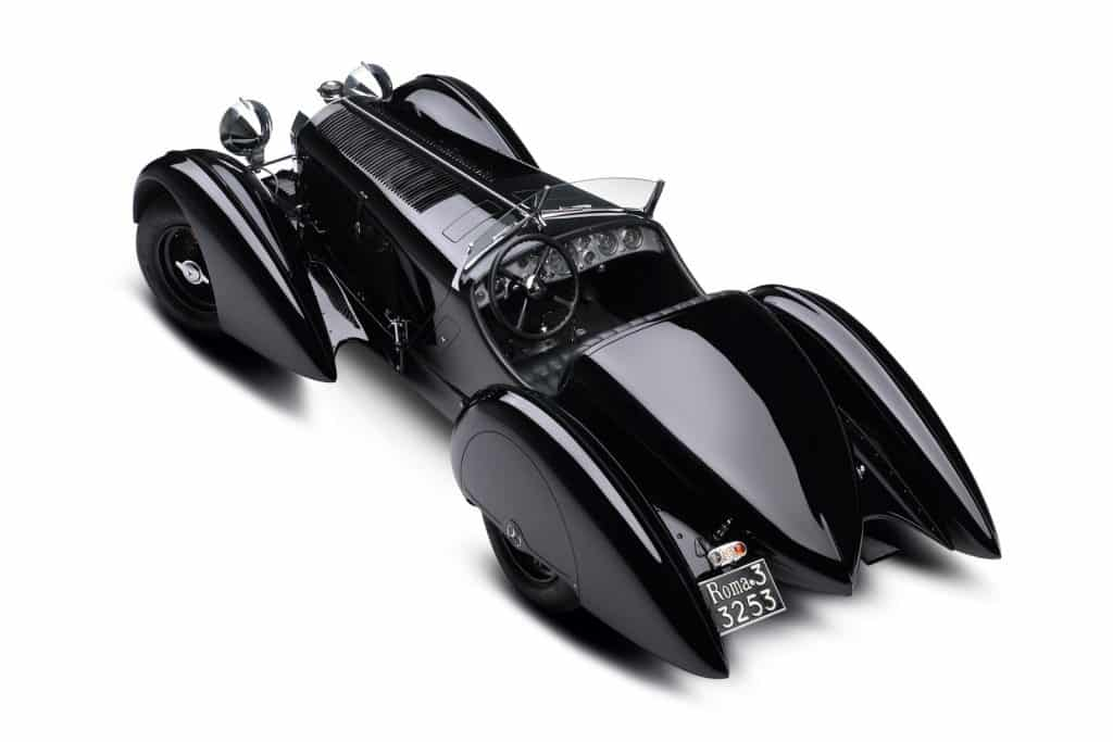 "1930 Mercedes Benz SSK ""Count Trossi"""