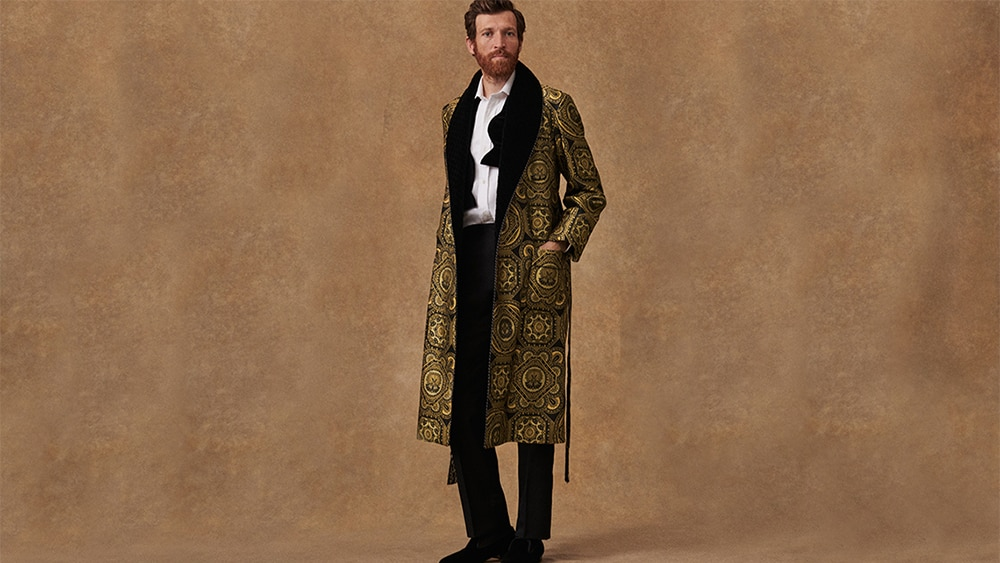 Lounge in decadence with custom-made dressing gowns  — epic gifts