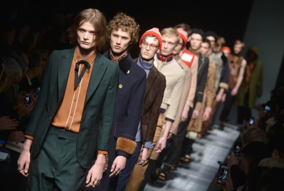 Milan Fashion Week 2021 - A previous season's Gucci men's runway show