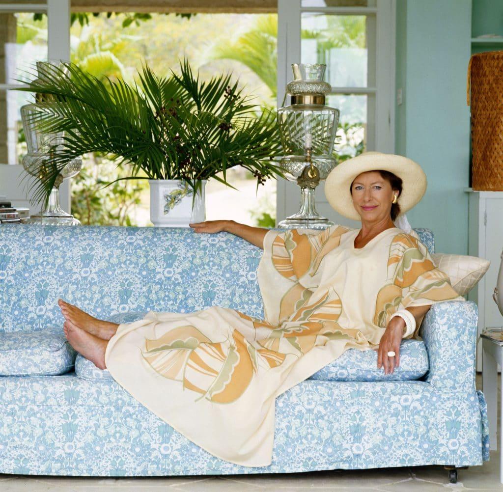 Princess Margaret in Mustique
