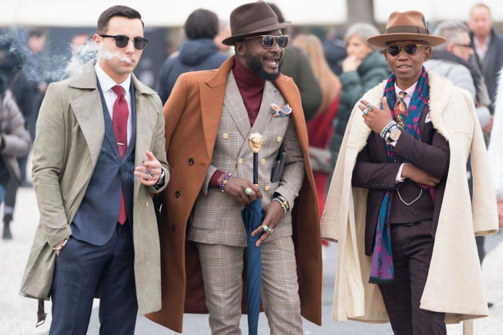 Milan Fashion Week 2021 - Guests at Pitti Uomo