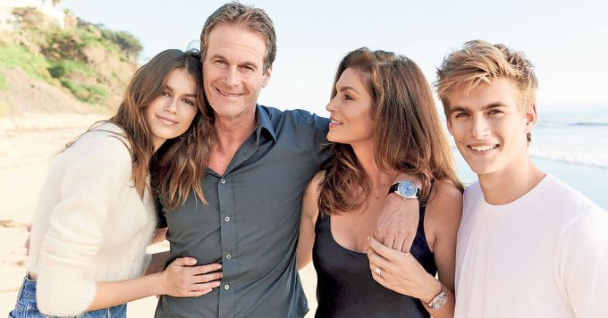 Rande Gerber and family