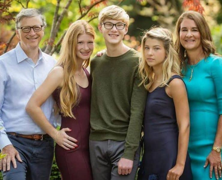 Who Are The Heirs To Microsoft? Meet The Children Of Bill & Melinda Gates